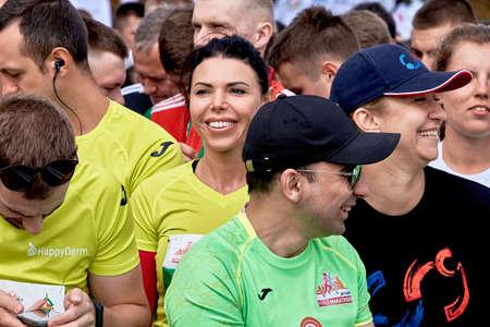 Half Marathon Minsk 2019 Running in the city