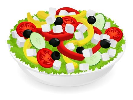 cucumbers: Vegetable salad