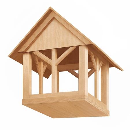 bird house: Birdhouse Stock Photo