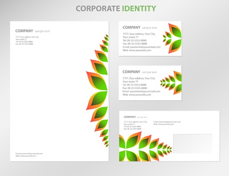blank business card: Business style templates  Vector Illustration