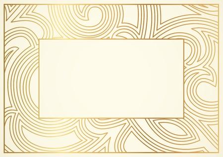 Certificado de finalización plantilla de Vector Ilustración de vector