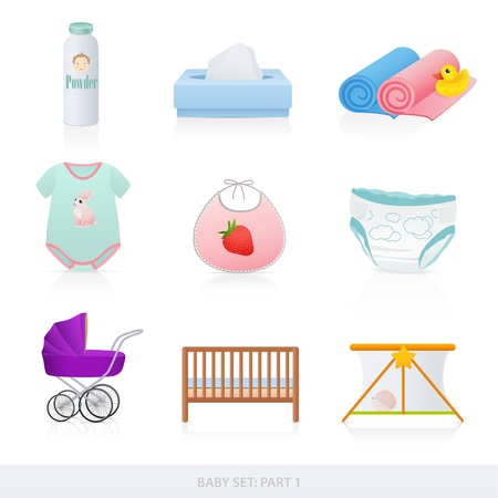 manege: Baby icons
