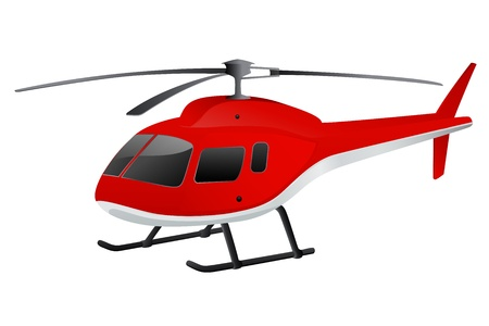 Helicopter Simple Black Silhouette  Isolated Copter Icon