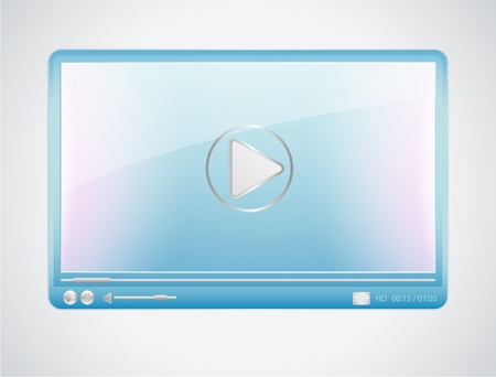 Video player Stock Vector - 12489492