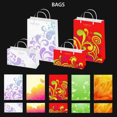 Bags  Vector design Stock Vector - 12489377