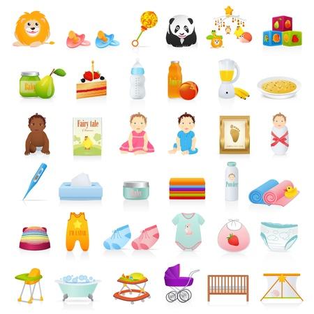 baby towel: Iconos del beb�