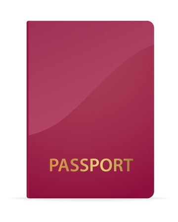 Passport. Vector illustration Vector