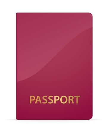 Passport. Vector illustration