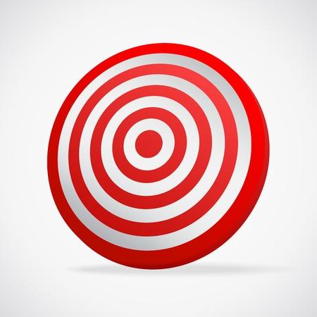 Target. Vector illustration Vector