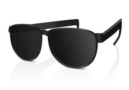 Sun glasses. Vector illustration on white background Illustration