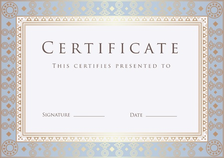 Certificate of Completion Template. Dipl�me