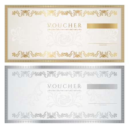 certificates: Voucher  coupon