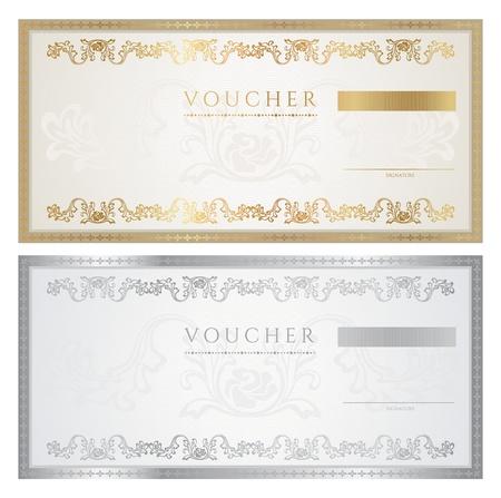 coupon template: Voucher  coupon