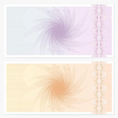 商品券バウチャー  イラスト・ベクター素材