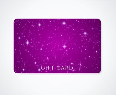 estrellas moradas: Violeta oscuro petunia Tarjeta de visita regalo