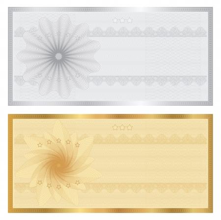 Certificado de regalo Foto de archivo - 20478952