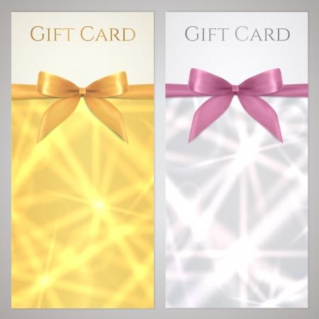 reward: Voucher Gift certificate Illustration
