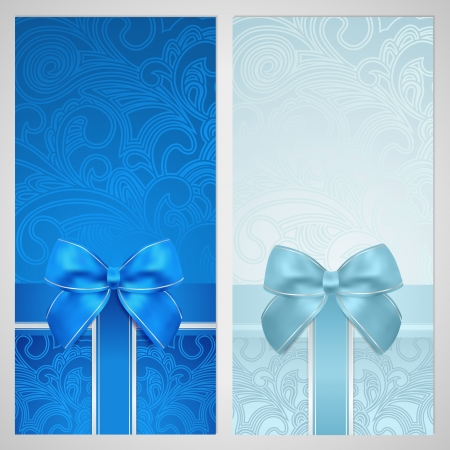 coupon: Holiday  celebration  background design. Christmas, Birthday  for invitation, banner, ticket. Illustration
