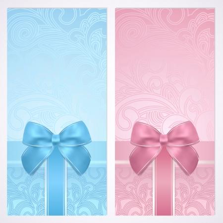 curlicue: Holiday  celebration  background design  Christmas, Birthday  for invitation, banner, ticket. Illustration