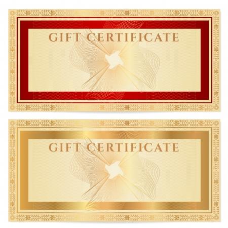 Voucher, Gift certificate