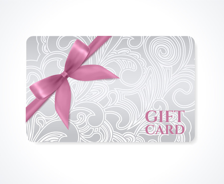 coupon gift discount card  Stock Illustratie