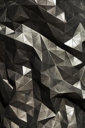 zwarte abstracte geometrische achtergrond voor digitaal ontwerp