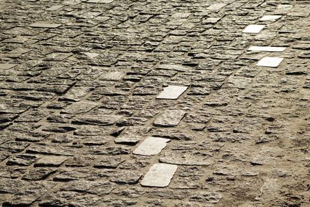 texture of stone pavement tiles cobblestones bricks background