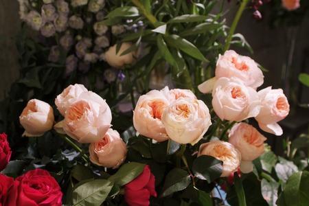 Rose Wedding Bouquet. Bloemen arrangement van rozen