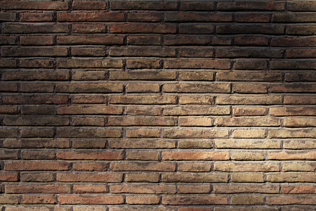 Background of old vintage brick wall in Rome Italy Stockfoto