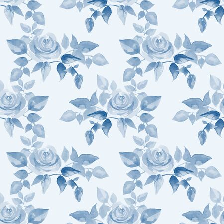 summer holiday: Background with beautiful roses. 63 Seamless pattern in vector