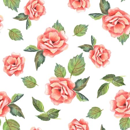 beautifu: Beautifu hand-drawn flowers. Floral seamless pattern 2