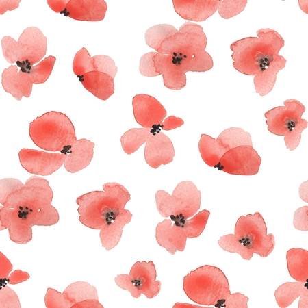 Delicate floral background 1. Seamless pattern Stock Photo