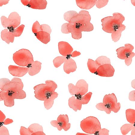 patrones de flores: Fondo floral delicado en el vector 1 Vectores