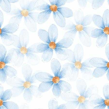 Delicate floral set. Seamless pattern 30 写真素材