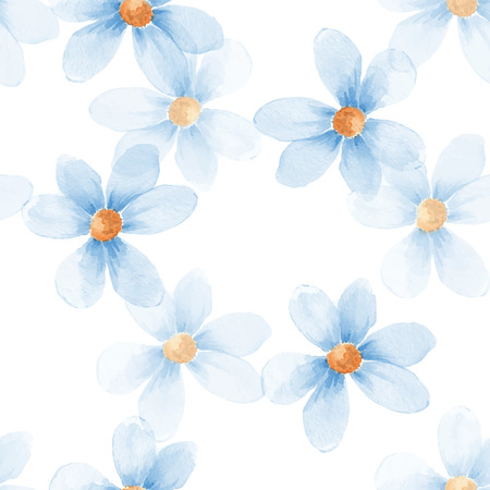 delicate: Delicate floral set. 33 Seamless pattern in vector