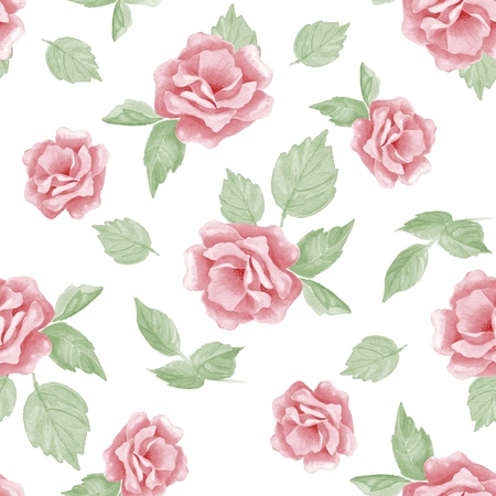 51: Beautiful hand-drawn flowers. Floral seamless pattern 51