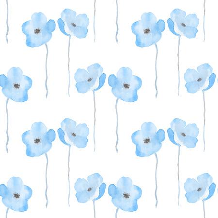 delicate: Delicate watercolor flowers.
