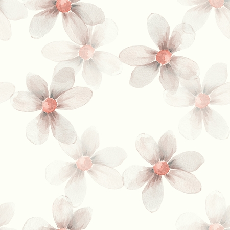 delicate: Delicate floral set. Feminine background. Seamless pattern 24
