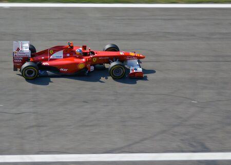 11 september: 11 de septiembre 2011 en Monza Ferrari F1 Grand Prix Editorial