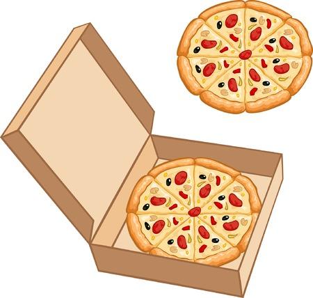 pepperoni pizza: Pizza