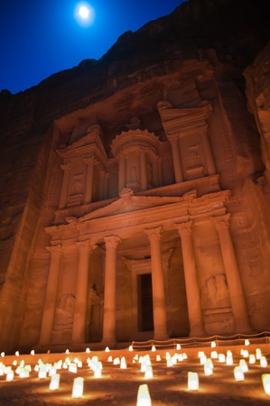 Ancient Petra city in jordan