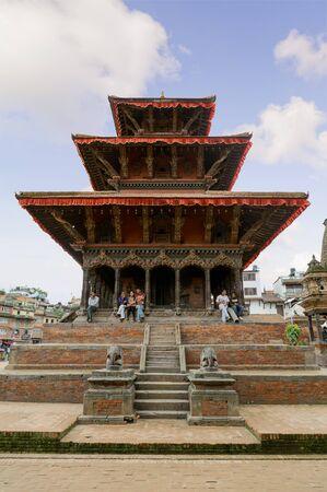shankar: KATHMANDU, NEPAL - JULY 23, 2013: Hari Shankar Temple, Taleju Temple, Taleju Bell, Degutalle Temple at Durbar Sqaure in Patan, Lalitpur city.Durbar Squares in the Kathmandu Valley, all of which are UNESCO World Heritage Sites. Editorial