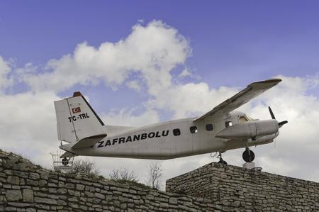 monument historical monument: zafranbolu historical plane monument in safranbolu karabuk