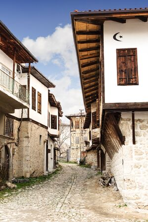 Safranbolu yoruk village houses in Karabuk Turkey. Reklamní fotografie