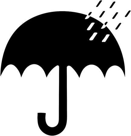Mantener alejado de la luz solar, la lluvia, la nieve, la advertencia de advertencia triangular roja aislada sobre fondo blanco. Foto de archivo - 98380534