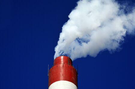 close up chimney: chimney smoke