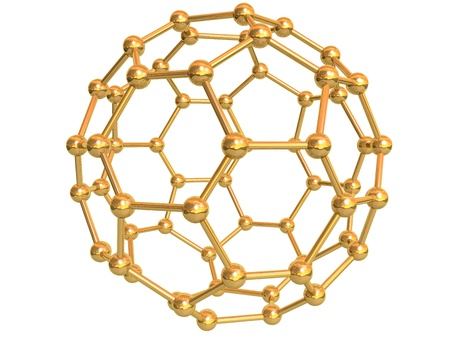 nano: Isolated Gold C60 Fullerene