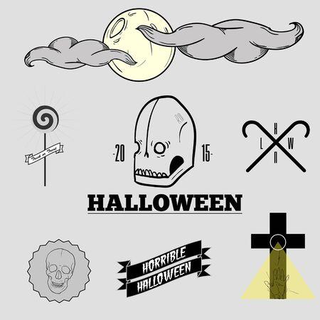 moonrise: Halloween set Illustration