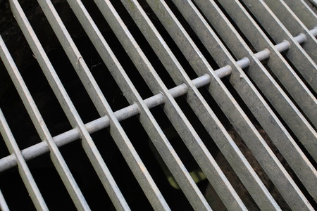 grille: Ventilation Hole, Close Up View.