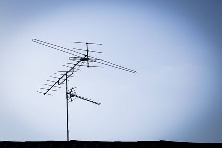 antenna: TV Antenna Stock Photo